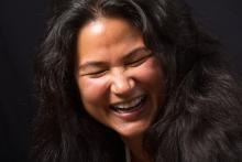 Karen Laughing